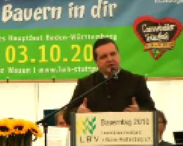 Bauerntag 2010 - Eröffnungsrede Ministerpräsident Stefan Mappus