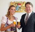 Bayerische Bierkönigin 2011