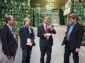 Betriebsbesichtigung Kumpf Fruchtsaft GmbH & Co. KG 13-9-2013