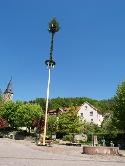 Maibaum in Laufen a.d. Kocher
