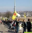 Menschenkette Neckarwestheim 12-03-2011