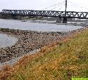 Rheinpegel auf Rekord-Tiefstand