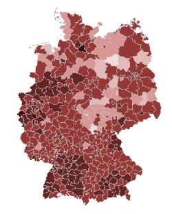 Corona übersichtskarte Deutschland